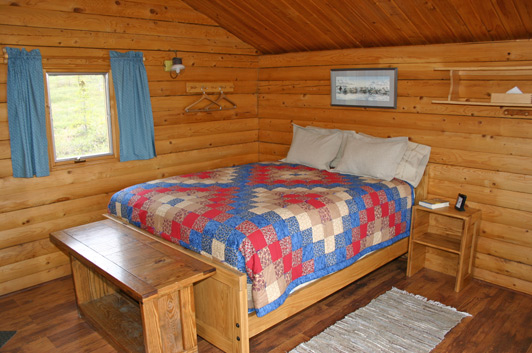 Our cabin at Camp Denali in Denali National Park was warm, cozy, and clean. I loved it!