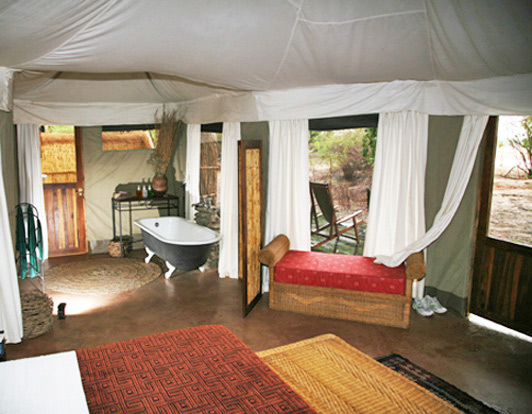 Luxury in the Zambia bush with Norman Carr Safaris.