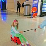 Ride On, Pull Along Suitcase for Pre-Schoolers
