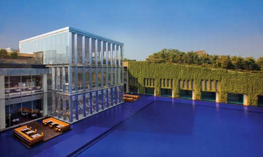 The Oberoi, Gurgaon is located in a modern business district, a 15 minute drive from Delhi International Airport.