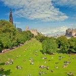 Edinburgh, Scotland, is home to a series of popular festivals during the summer.