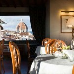 Florence Italy is home to Hotel Degli Orafi where EM Forster wrote A ROOM WITH A VIEW.
