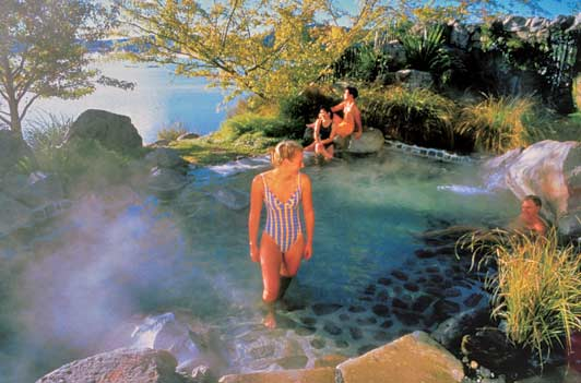 Don't miss the chance to soak in one of New Zealand's great thermal pools.