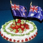 Pavlova is claimed as the national dessert of both Australia and New Zealand.
