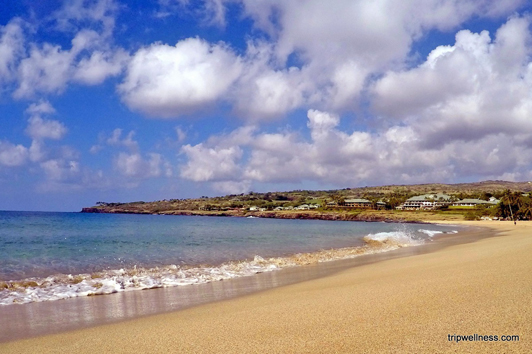 Hulopoe Bay, near the Four Seasons Manele, is the best place to snorkel on Lanai.