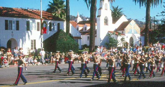Best time to visit La Jolla: Christmas Parade.