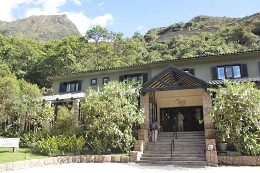 Sanctuary Lodge, A Belmond property, is the only hotel right on doorstep of the Machu Picchu Santuary site.