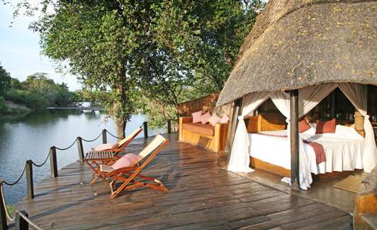 Sindabezi Lodge, near Victoria Falls, is a great example of authentic luxury lodging.