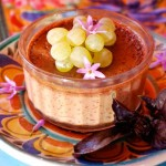 Rancho La Puerta is well known for their great food, including this chocolate flan.