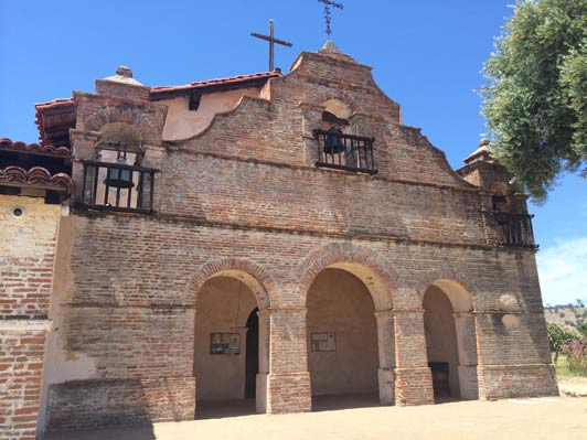 Mission San Antonio de Padua on the Central Coast of California. Credit: Maggie Espinosa.