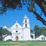 Mission San Luis Rey, Oceanside, California. Credit: ADAMS / HANSEN STOCK PHOTOS.