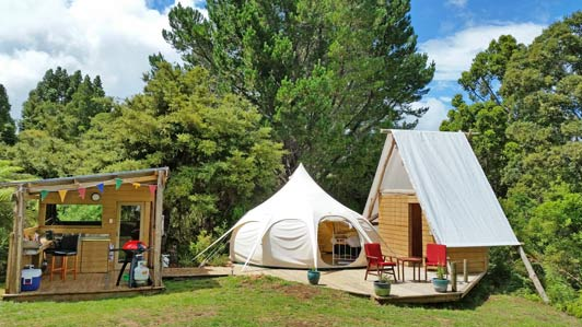 I loved everything about our most recent trip to New Zealand, especially this glamping experience on the North Island.