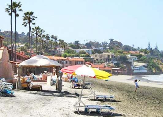 The La Jolla Beach & Tennis Club is both a private club and a beachfront resort.