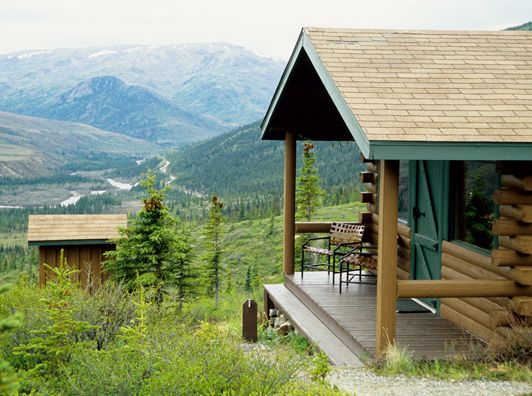 Alaska glamping in denali national park authentic for Denali national park cabins