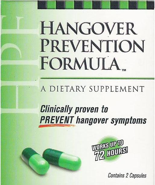 Hangover Prevention Formula