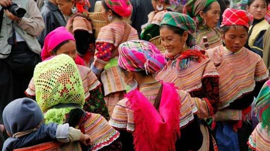 Bac Ha Sunday Market, Northwest Vietnam...with Vietnam Alive.