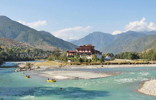 "In Bhutan, the rivers fed with snowmelt from the Himalayas are ""beyond beautiful."""