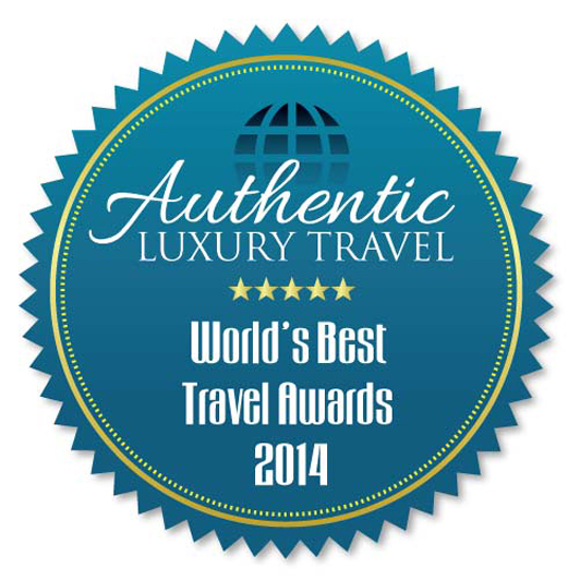 This badge has been award to the 5 best destination travel companies in the world.