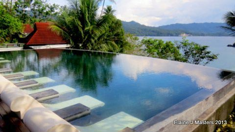 Lembeh Hills Resort, Lembeh Strait. Photo credit Elaine J. Masters