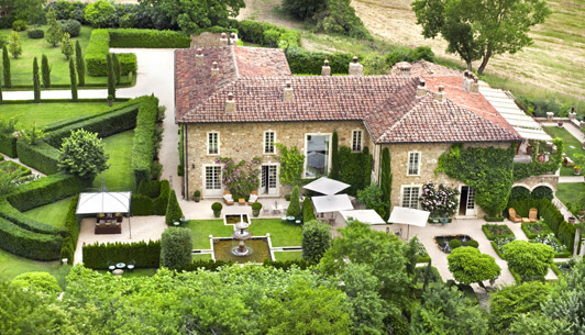 Borgo Santo Pietro is a romantic boutique hotel near Siena in the Tuscany region of Italy.