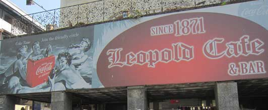 If you've read Shantaram, you'll want to visit the Leopold Cafe.