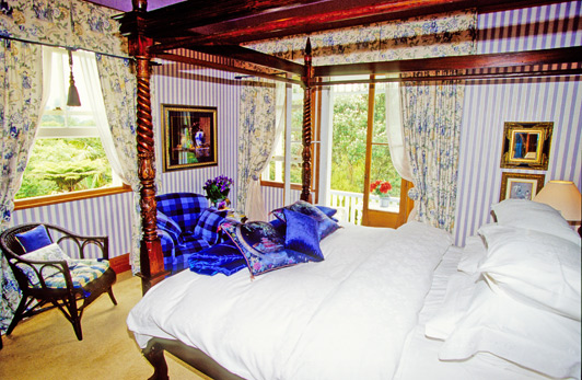 New Zealand B&Bs offer very comfortable accommodations, delicious homemade breakfasts, and warm hospitality.