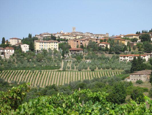Authentic Tuscan Town Radda In Chianti Authentic