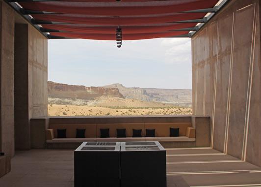 Amangiri Resort is surrounded by Southern Utah's splendid red rock scenery.