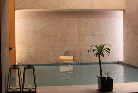 The Aman Spa at Amangiri is a peaceful oasis.