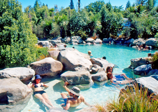 Hamner Springs is one of the more popular New Zealand spas in the South Island.