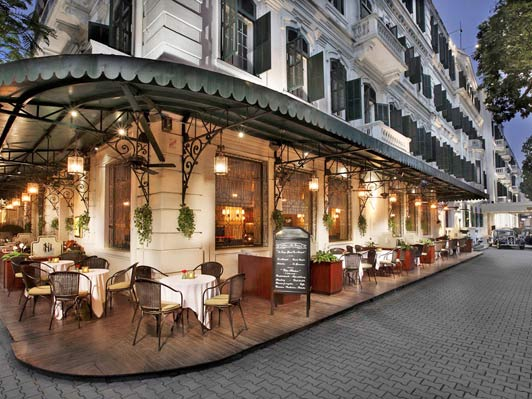 Sofitel Metropole Hotel has been the social hub of Hanoi since it opened it 1901.