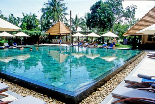 Vietnams best hotels: This gorgeous pool helps guests at Anantara Hoi An Resort keep cool.
