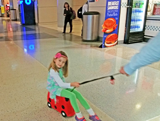 Will your Trunki hold up? This photo was taken 3 years after the one below. Yep, our 6 year old loves it just as much as she did when she was 3.