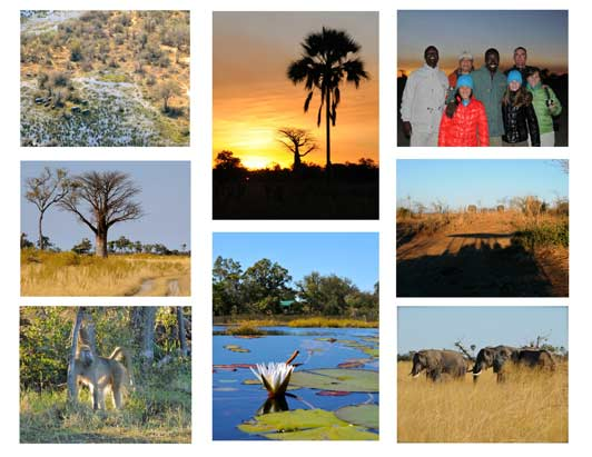 "Botswana was ""the trip of a lifetime"" for Kathleen and her family."