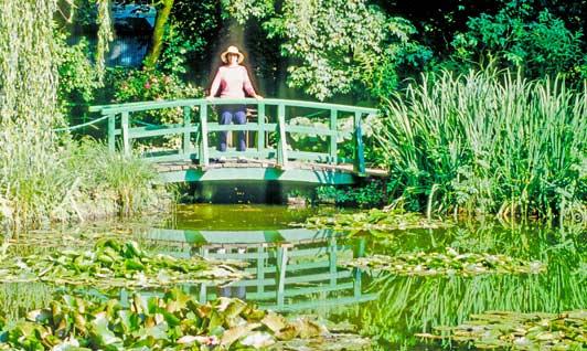 Alone in Monet's garden...bliss.