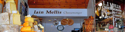 I. J. Mellis Cheesemonger, Edinburgh