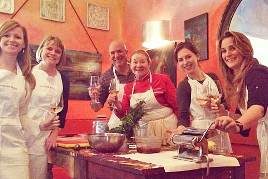 Florence cooking lessons: Il divertimento comincia (the fun is about to start)!