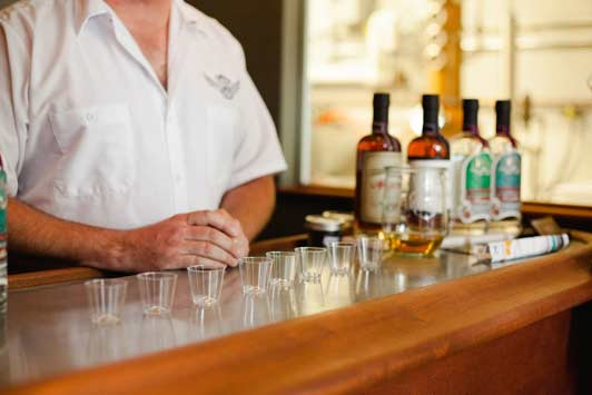Another popular stop on the Eat This, Shoot That! Santa Barbara food tour: Cutler's Artisan Spirits.