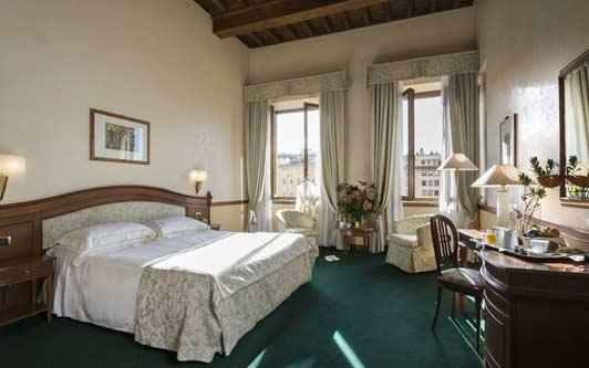 Hotel Degli Orafi, Florence Italy.