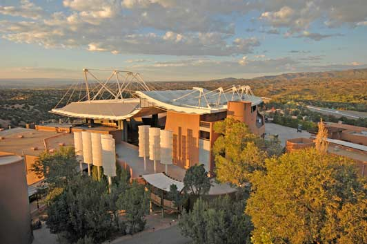 Santa Fe Opera theatre. Photo credit Robert Godwin.