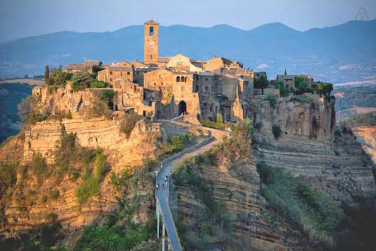 Do your Thanksgiving travel plans include Lazio, Italy?