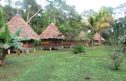 Manu Lodge, Manu National Park. Photo credit, Diane Barnes, M.D.