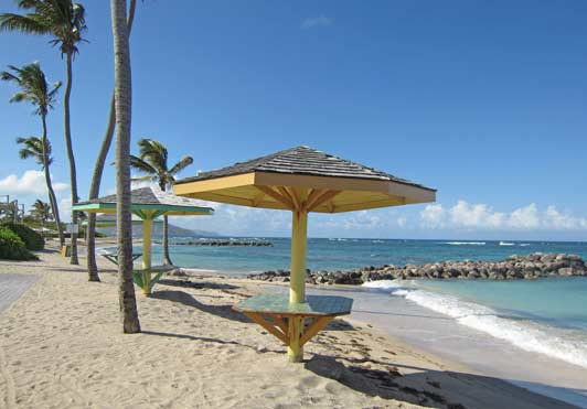 Nevis, where no building can be taller than a coconut palm, is a great example of tourism with taste.