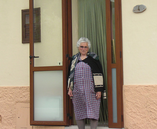 """My ancestry travel: I entered Senerchia armed with a sentence written on the back of an envelope """"Mia nonna é nata qui"""" Credit Renee Van Arsdale."""