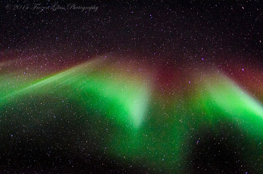Alaska is one of the best places in the world to see the Northern Lights. Credit: Victoria Lynn Pennick.