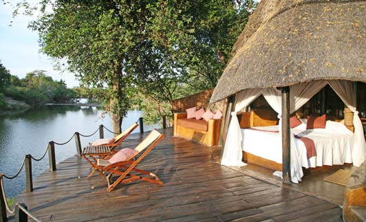 Authentic luxury travel is sleeping outdoors in Africa.