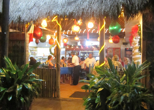 One of our favorite Cozumel restaurants: La Perlita, well known for great seafood.