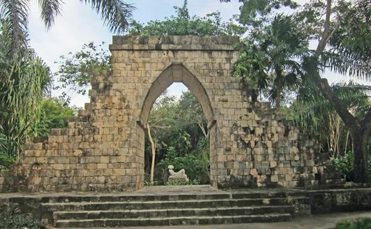 Mayan Arch, Chankanaab National Park, Cozumel.
