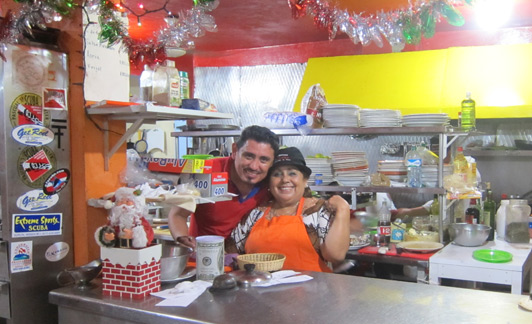 Cozumel restaurants: Ray Chacon at El Moro. This family-run restaurant serves great meals and warm hospitality
