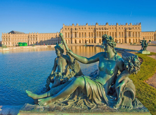 Monday at the Château de Versailles just outside of Paris.
